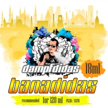 dampfdidas Banadidas Bananen Milchshake 18ml dampfdidas