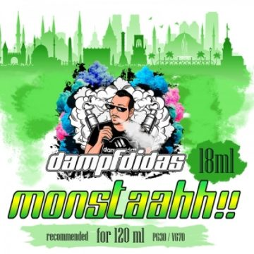 Monstaahh! Dampfdidas – Energy Drink Aroma 18ml dampfdidas