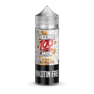 NILLA ALMOND 100ml E-Liquid – KEEP IT 100 Keep it 100