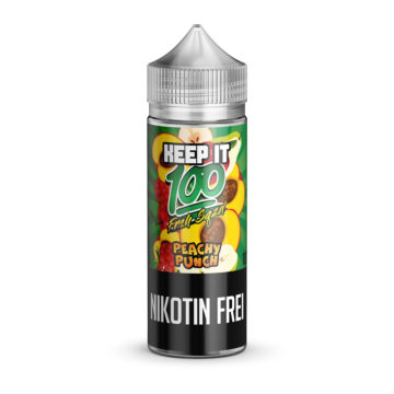 PEACHY PUNCH 100ml E-Liquid – KEEP IT 100 Keep it 100