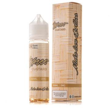 BURST BACCO CUSTARD 50ml Liquid BURST Tobacco