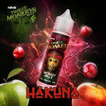 Hakuna – Twelve Monkeys – 50ml Liquid Twelve Monkeys