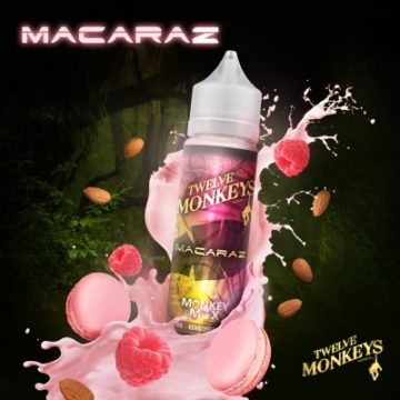 Macaraz – Twelve Monkeys – 50ml Liquid Twelve Monkeys