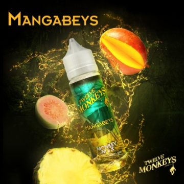 Mangabeys – Twelve Monkeys – 50ml Liquid Twelve Monkeys