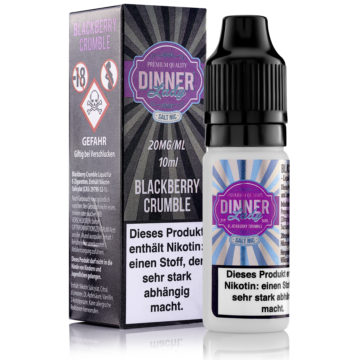 Blackberry Crumble Dinner Lady 10ml – Nikotinsalz 20mg Dinner Lady Nikotinsalz