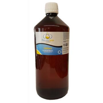 flavourless Base 1 Liter – 80%VG / 20%PG Basen