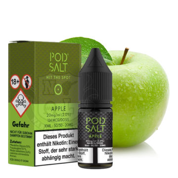POD SALT Apple 10ml mit 20mg Nikotin POD SALT