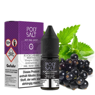 POD SALT Blackcurrant Menthol 10ml mit 20mg Nikotin POD SALT