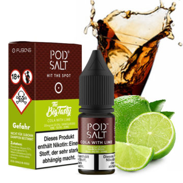 POD SALT Cola with Lime 10ml mit 20mg Nikotin POD SALT
