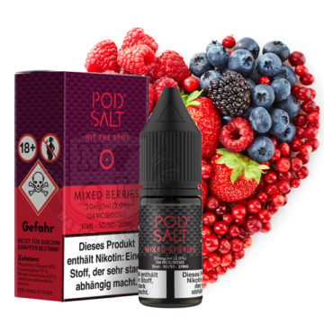 POD SALT Mixed Berries 10ml mit 20mg Nikotin POD SALT