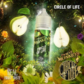 Circle of Life – Twelve Monkeys – 50ml Liquid Twelve Monkeys