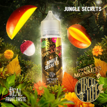 Jungle Secrets – Twelve Monkeys – 50ml Liquid Twelve Monkeys