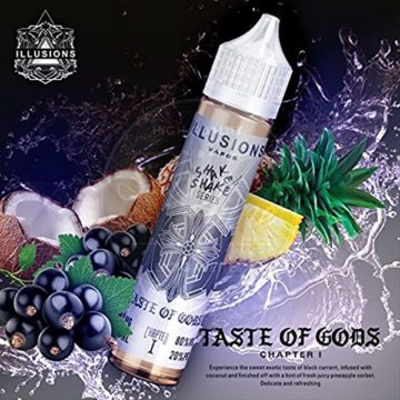 Taste of Gods – Illusions Vapor – 50ml Liquid Illusions Vapor
