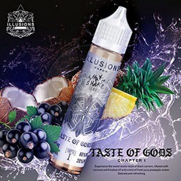 Taste of Gods – Illusions Vapor – 50ml Liquid Illusions Vapor