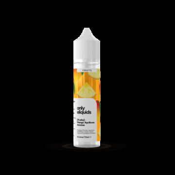 Mango Ananas Aprikose Aroma 15 ml – Only Fruits Only Eliquids