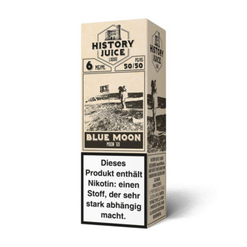 History Juice Liquid Blue Moon 10ml HISTORY JUICE