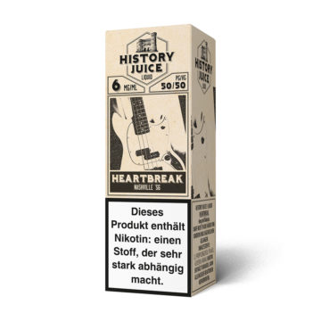 History Juice Liquid Heartbreak 10ml HISTORY JUICE
