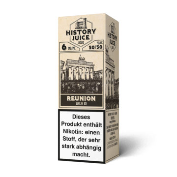 History Juice Liquid Reunion 10ml HISTORY JUICE