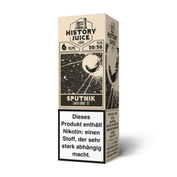 History Juice Liquid Sputnik 10ml HISTORY JUICE