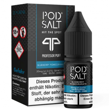 POD SALT Blueberry Pomegranate 10ml mit 20mg Nikotin Neu